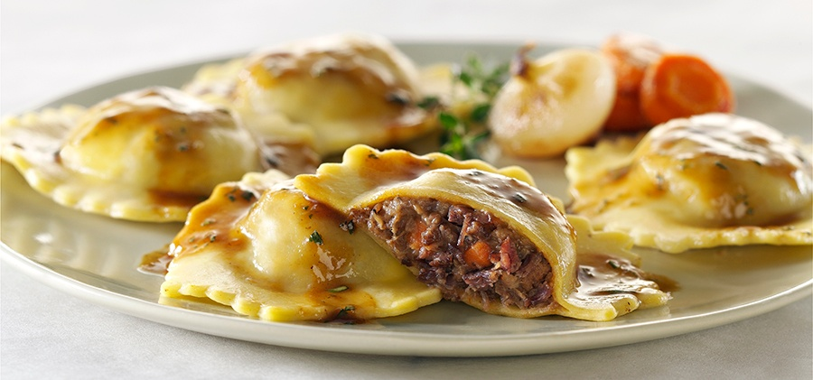 Braised Beef Ravioli