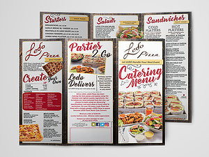 Ledo Catering Menu
